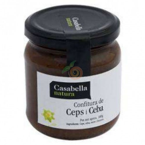 Confitura de ceps y cebolla 200 gramos casabella
