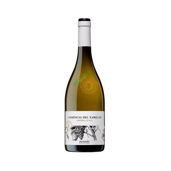 Vino blanco l'essencia del xarel-lo 750 ml castell d'age