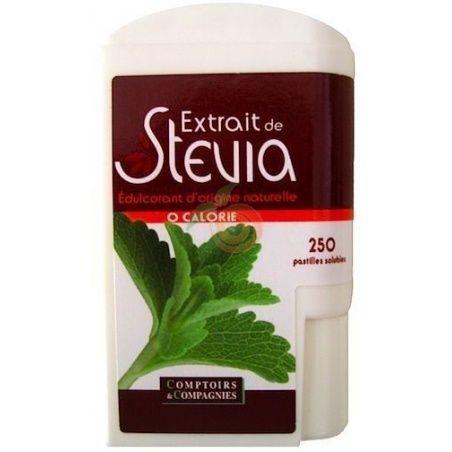 Stevia 250 pastillas comptoirs & compagnies