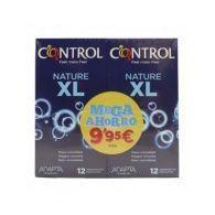 Pack ahorro preservativos nature xl 24 unidades control