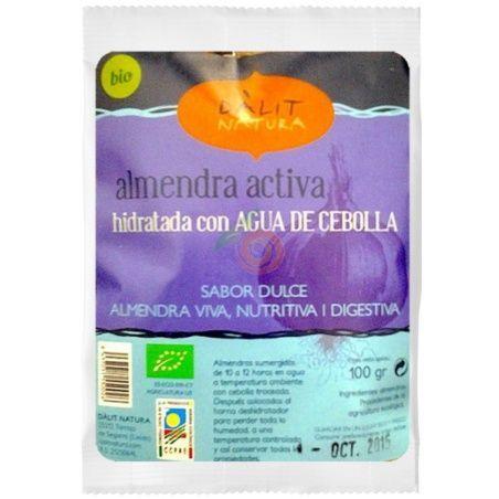 Almendra activa hidratada con agua de cebolla 100 gramos dalit natura