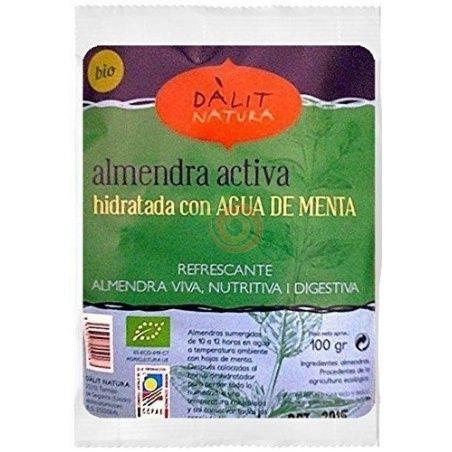 Almendra activa hidratada con agua de menta 100 gramos dalit natura