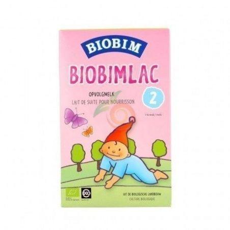Leche infantil biobi mlac 2 - 450 gramos ecolac