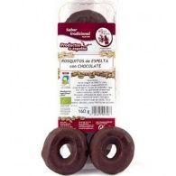Rosquitos de espelta con chocolate 160 gramos el horno de leña