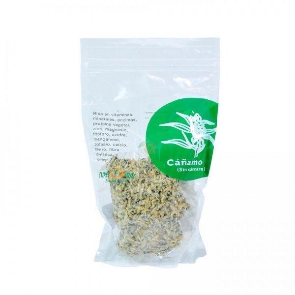 Cañamo semillas sin cáscara al vacío 250 gramos energy fruits