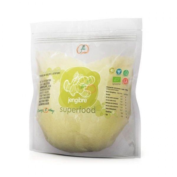 Jengibre en polvo eco 1 kg enargy fruits