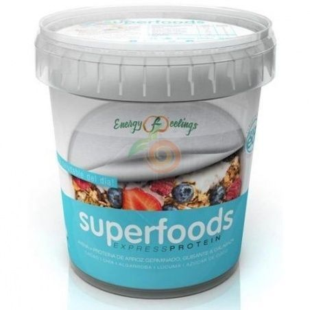 Superfoods express protein 400 gramos energy fruits