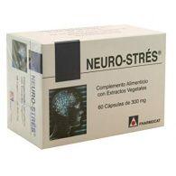 Neuro-strés 300 mg 60 cápsulas fharmocat gandia