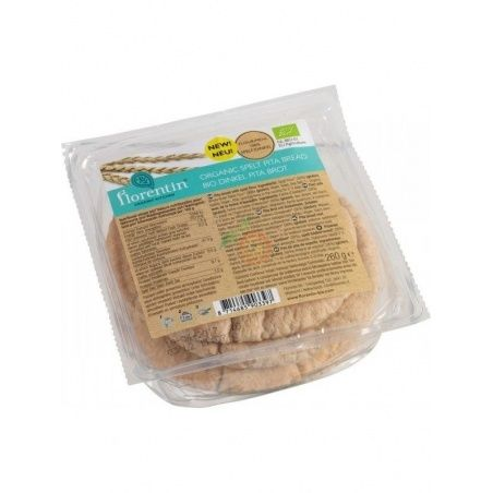 Pan de pita de espelta bio 260 gramos florentin