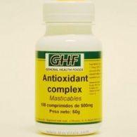 Antioxidante complex masticables 500 mg 100 comprimidos ghf