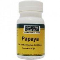 Papaya 600 mg 100 comprimidos ghf