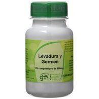 Levadura y germen 600 mg 125 comprimidos ghf