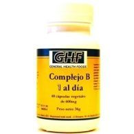 Complejo b 600 mg 60 comprimidos ghf