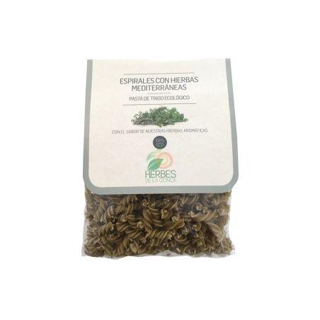 Espirales con hierbas mediterráneas 250 gramos herbes de la conca