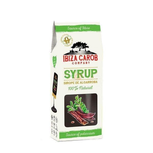 Sirope de algarroba 320 gramos ibiza carob company