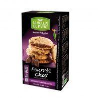Cookies rellenas de chocolate 175 gramos le moulin du pivert