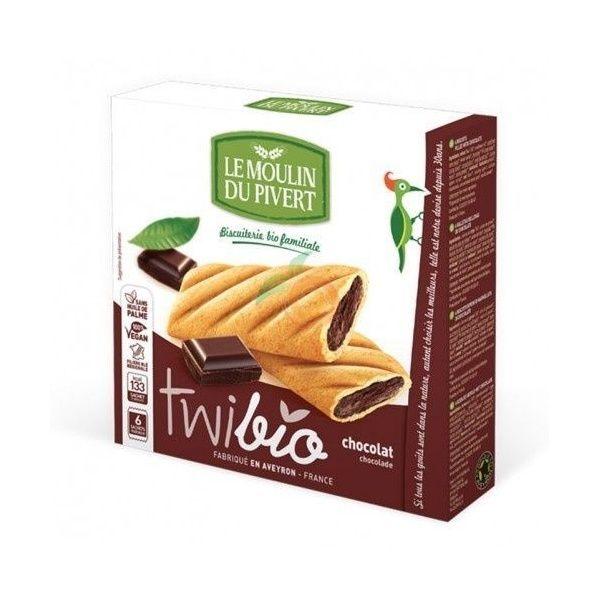 Twibio delicias de chocolate 150 gramos le moulin du pivert