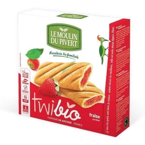 Twibio delicias de fresa 150 gramos le moulin du pivert