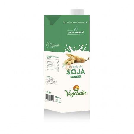 Bebida de soja con calcio 1 litro vegetalia