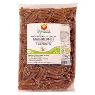 Macarrones integrales 500 gramos vegetalia