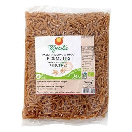 Fideos integrales nº5 - 500 gramos vegetalia