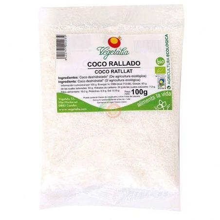 Coco rallado 100 gramos vegetalia