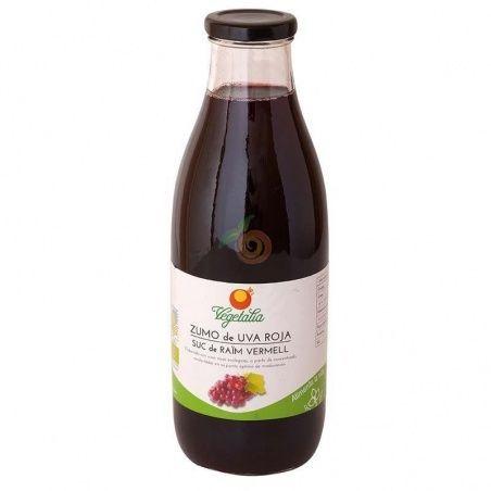 Zumo de uva roja 1 litro vegetalia
