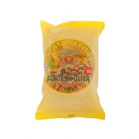 Patatas fritas con aceite oliva 100 gramos vegetalia