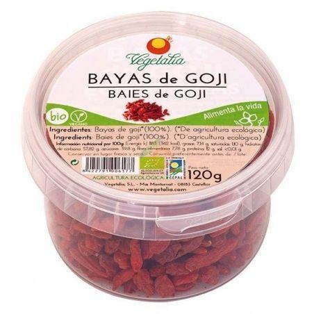 Bayas de goji 120 gramos vegetalia