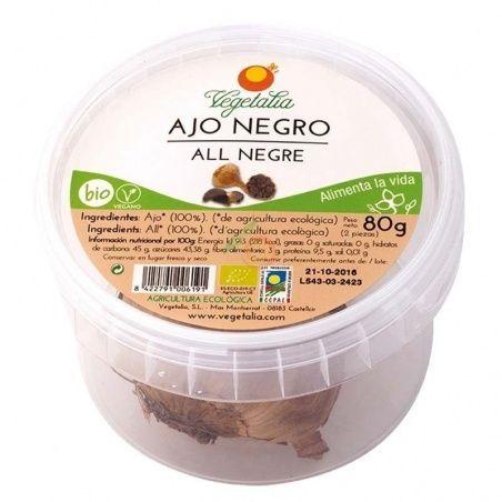 Ajo negro 2 cabezas 80 gramos vegetalia