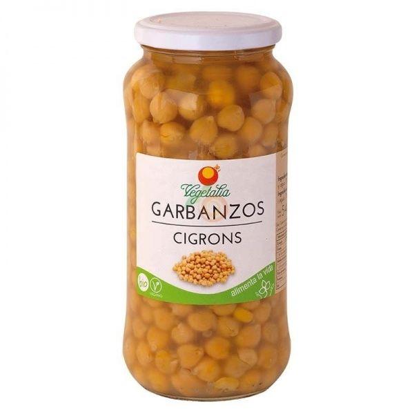 Garbanzos 540 gramos vegetalia