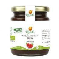 Mermelada de fresa con sirope de agave 265 gramos vegetalia