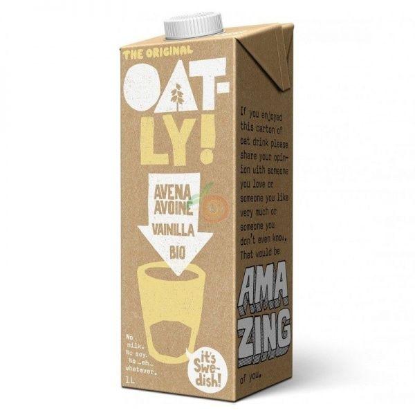 Bebida de avena sabor vainilla bio 1 litro oatly