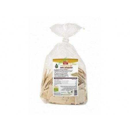 Mini crackers de trigo con sésamo 250 gramos la finestra