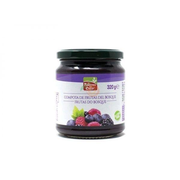 Compota de frutas del bosque 320 gramos la finestra