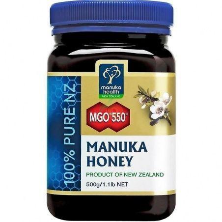 Miel de manuka mgo 550+ 500 gramos manuka world