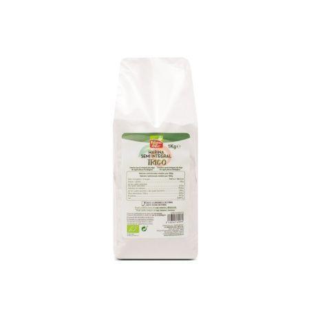 Harina semi integral de trigo 1 kg la finestra