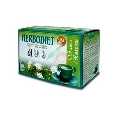 Herbodiet suave respirar 20 unidades nova diet