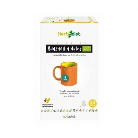 Herbodiet manzanilla dulce 20 unidades nova diet