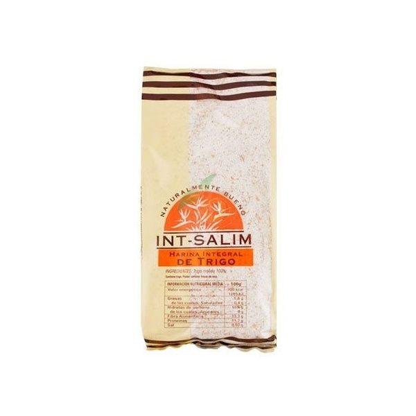 Harina integral de trigo 500 gramos int-salim