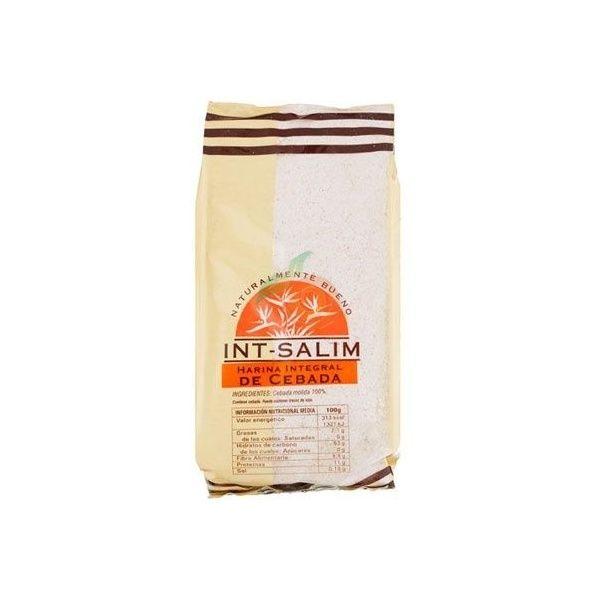Harina integral de cebada 500 gramos int-salim