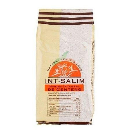 Harina integral de centeno 500 gramos int-salim
