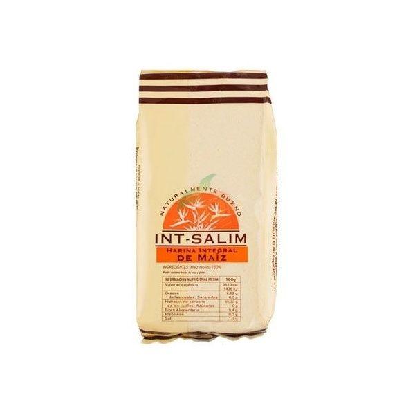Harina integral de maíz 500 gramos int-salim