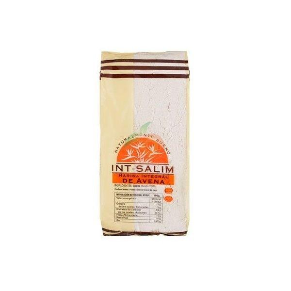 Harina integral de avena 500 gramos int-salim