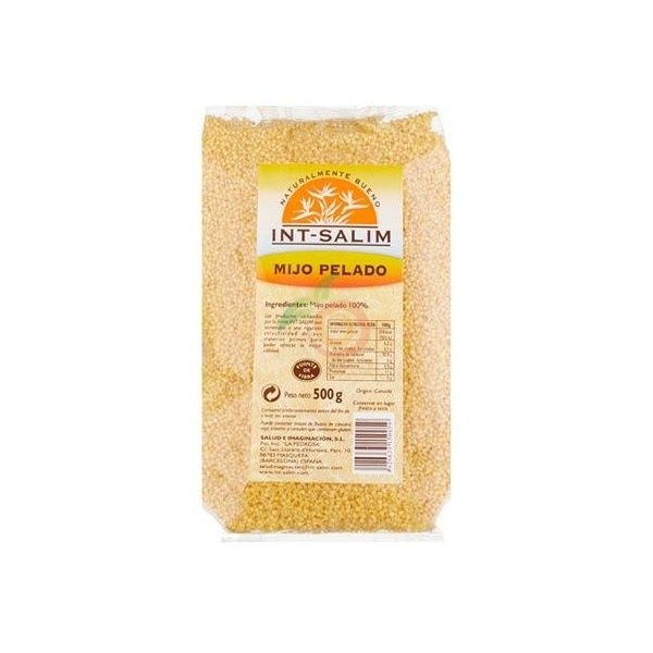 Mijo pelado 500 gramos int-salim