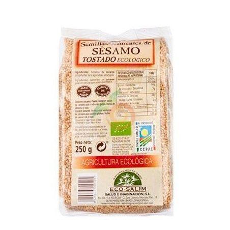Semillas de sésamo tostado 250 gramos int-salim