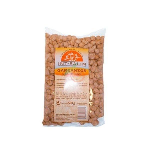 Garbanzos lechosos 500 gramos int-salim