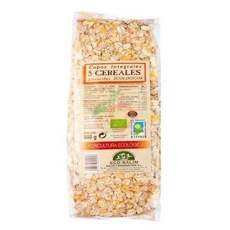 Copos 5 cereales 500 gramos int-salim