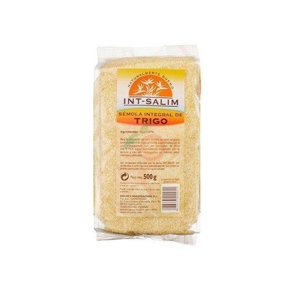 Sémola integral de trigo 500 gramos int-salim
