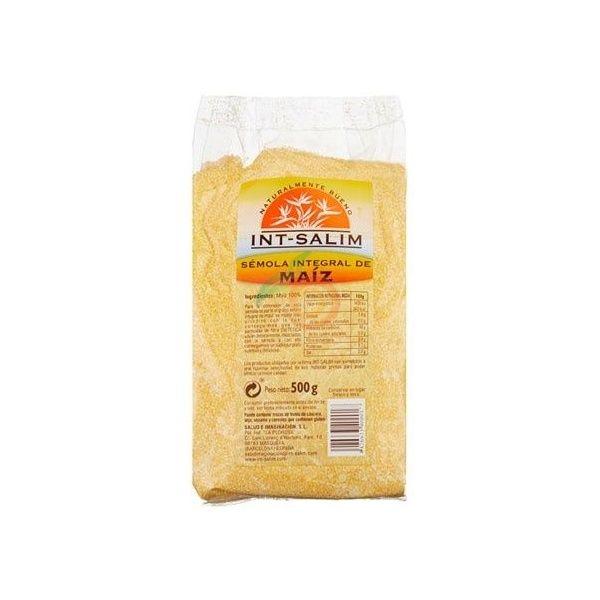 Semola integral de maíz 500 gramos int-salim